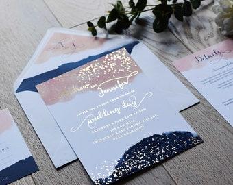 Wedding Invitation - Moondust