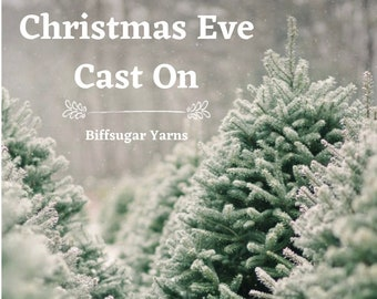 Pre-Order - Christmas Eve Cast On - Mystery skein