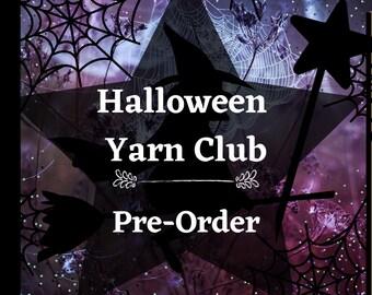 Pre-Order - Halloween Yarn Club - Mystery skein - Hand dyed yarn