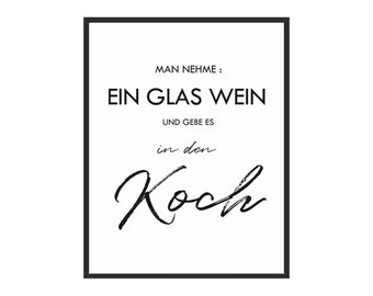 Poster küche | Etsy