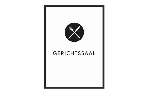 Poster Kuche Gerichtssaal Kunstdruck Poster Schwarz Weiss Etsy