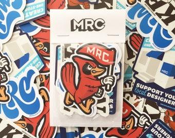Stickers, Four Pack, Custom Made, Designer Made, Gift