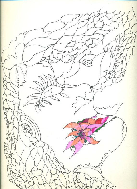 Livre de coloriage « Color me belle Collection »