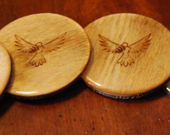 Peace Dove Coasters - Set of Four