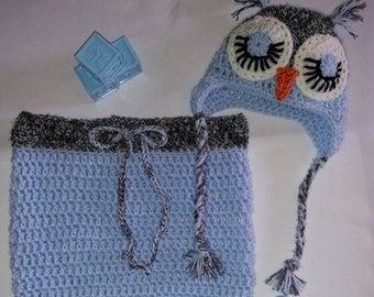 Owl Baby Cocoon Snuggly Set