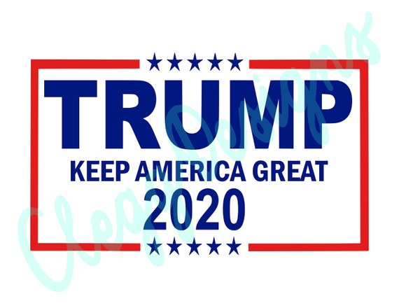 Trump 2020 Svg Republican Svg Cutting File Republican Party Etsy