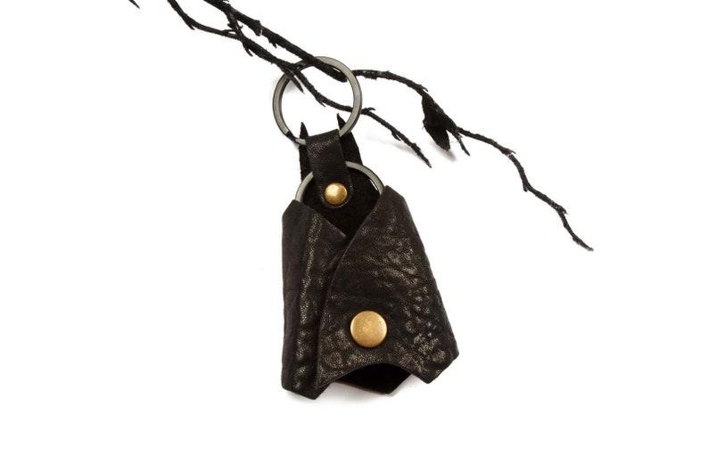 Real Leather Batman Key Chain
