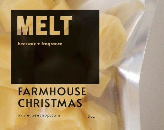 Farmhouse Christmas Scented Beeswax Melts