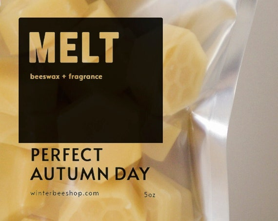 Perfect Autumn Day Scented Beeswax Melts