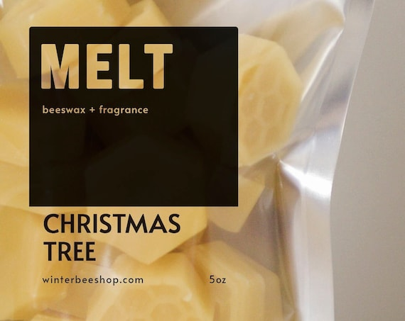 Christmas Tree Scented Beeswax Melts
