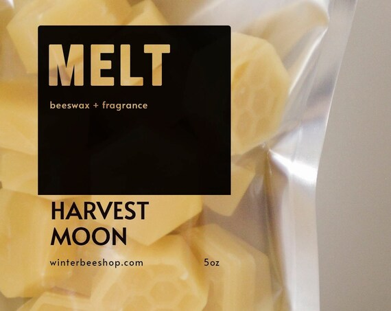 Harvest Moon Scented Beeswax Melts