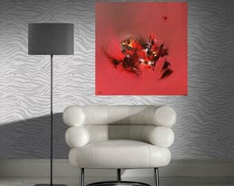 Original abstract art. Combative