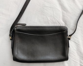 9db003bbac3e Vintage Buttery Leather Coach Crossbody Bag
