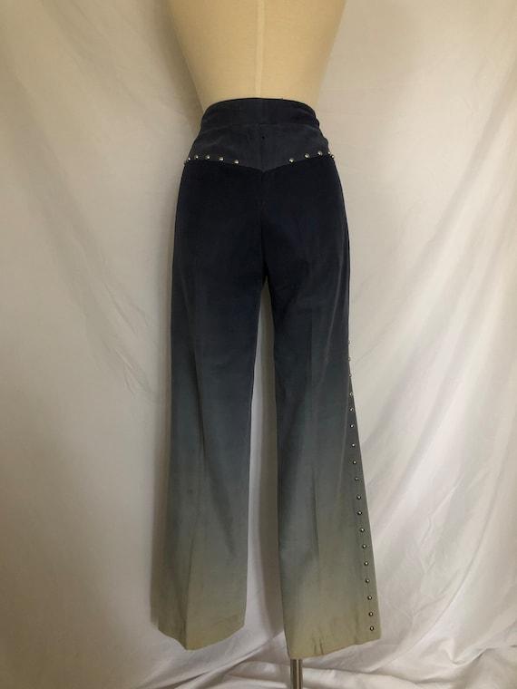70's Two-Piece Studded Ombré Suit Set - image 9