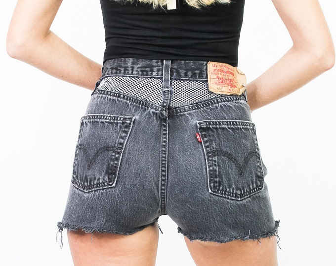 Levi's 501 Vintage Re-Worked Cut Off Shorts Size 27/28