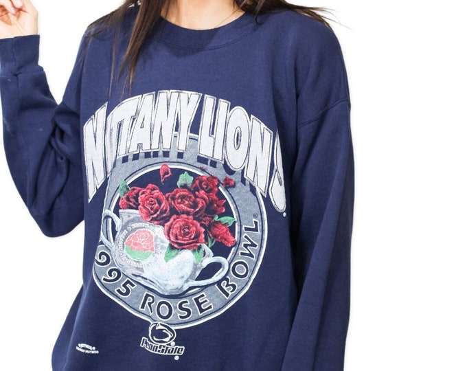Vintage Penn State University Sweatshirt - L