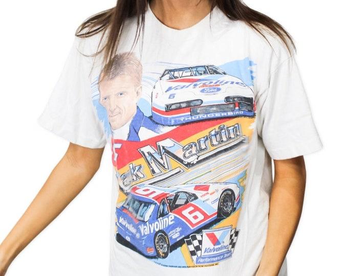 Vintage Mark Martin NASCAR Racing Tee - L