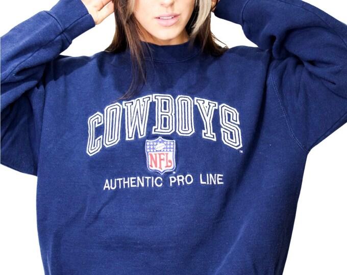 Vintage Dallas Cowboys Sweatshirt - L
