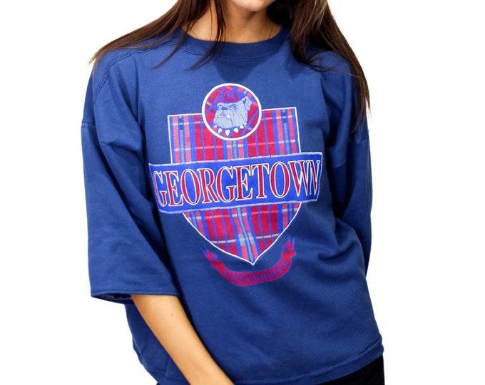 Vintage Georgetown University Sweatshirt - S