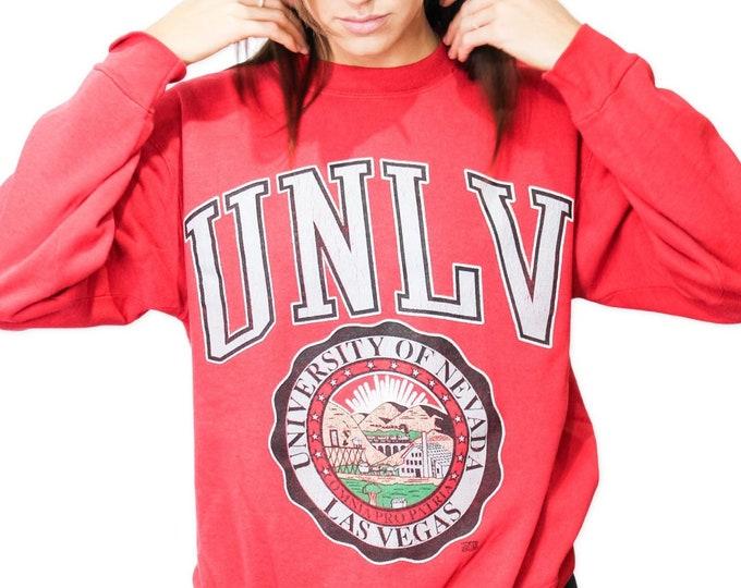 Vintage University of Nevada Las Vegas Sweatshirt - M