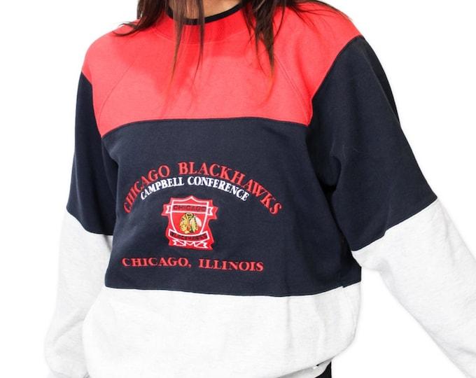Chicago Blackhawks Vintage Sweatshirt - M