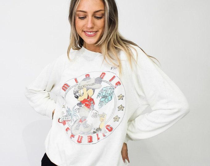 Vintage Mickey Mouse Disney Sweatshirt - L