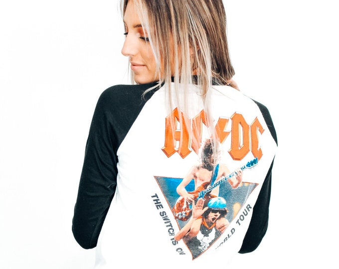 ACDC 1983 Tour Tee - M