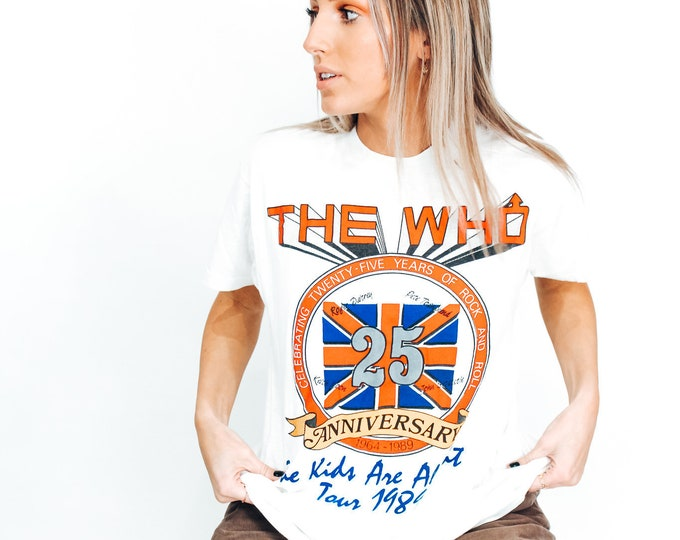 The Who 1989 Tour Tee - L