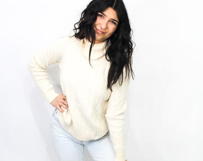 Vintage Turtleneck Sweater - M
