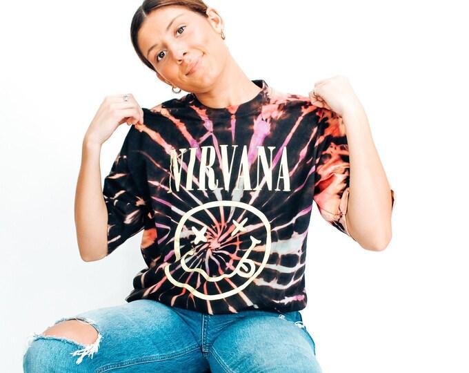 Nirvana Tie Dye Tee - XL