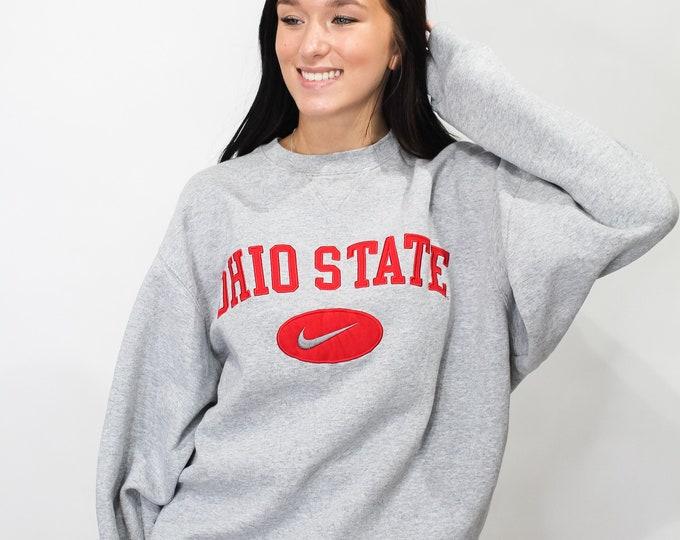 Vintage Ohio State University Nike Sweatshirt - M