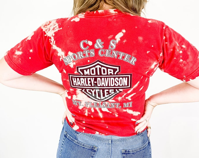 Harley Davidson Tie Dye Tee - M