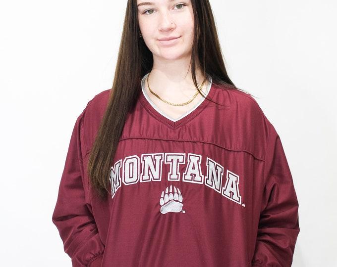 Vintage University of Montana Windbreaker Jacket - M