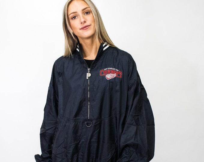 Vintage Detroit Red Wings Windbreaker Jacket - XL