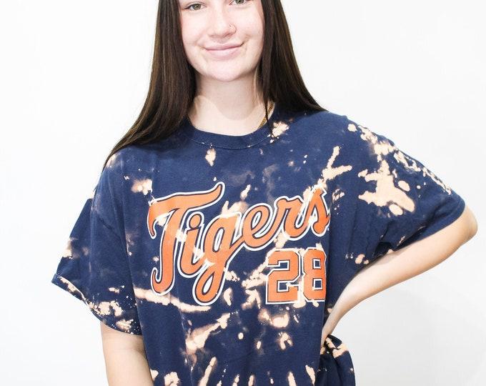 Detroit Tigers Tie Dye Tee - XL