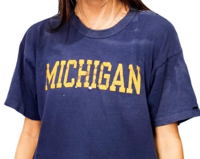 University of Michigan Vintage Champion Tee - XL