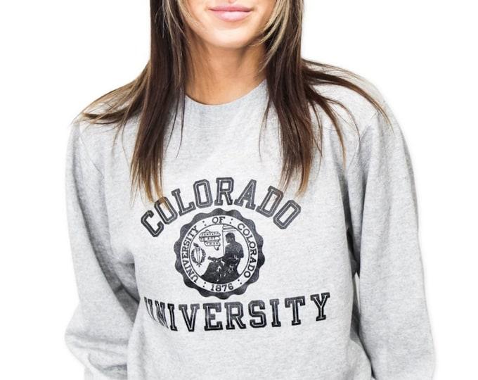Vintage University of Colorado Sweatshirt - S