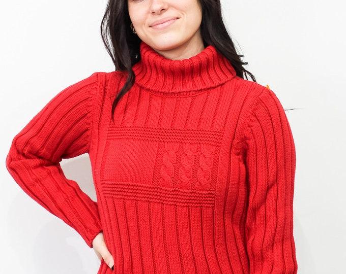 Vintage Tommy Hilfiger Turtleneck Sweater - M
