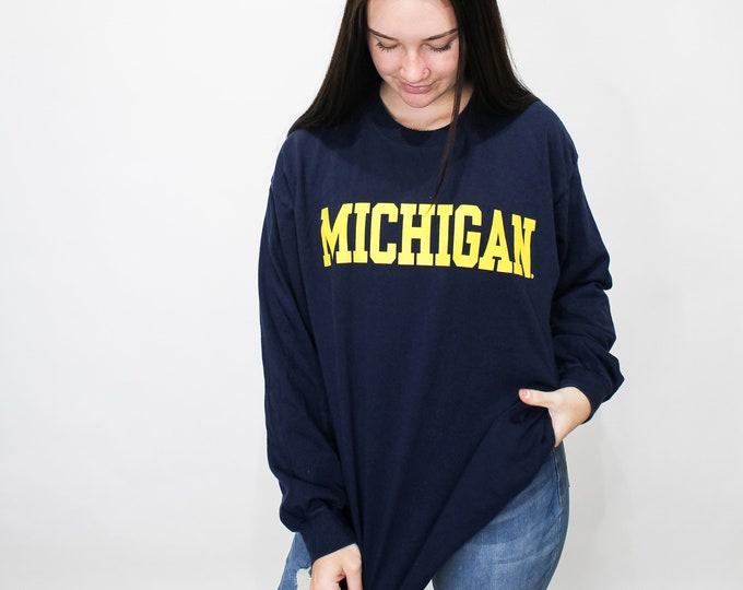 University of Michigan Vintage Tee - XL