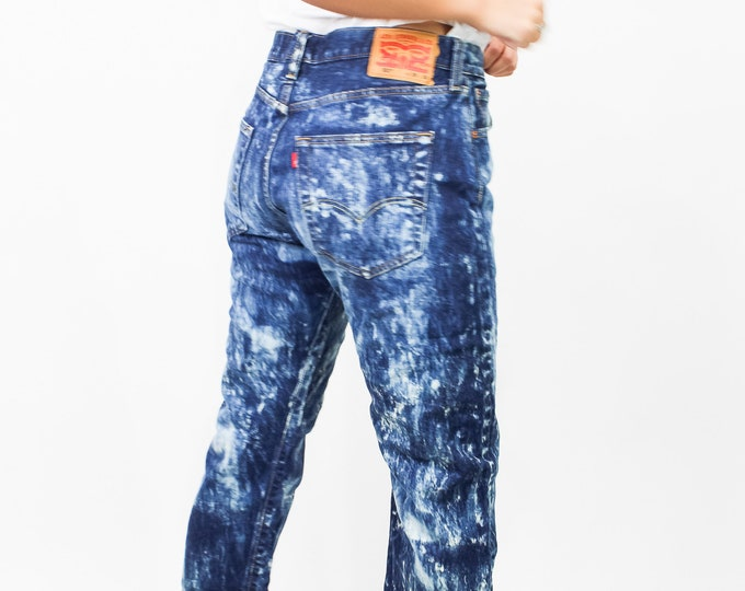 Levi's 501 Bleached Jeans Size 33/34