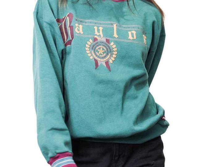 Baylor University Vintage Sweatshirt | Size L