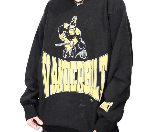 Vintage Vanderbilt University Sweatshirt - XL