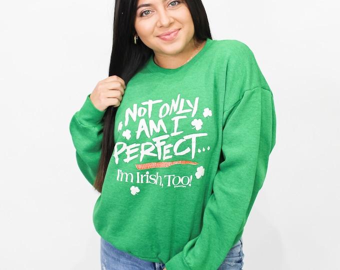 Vintage I'm Irish Sweatshirt - L