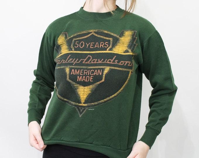 Harley Davidson Vintage Sweatshirt - M