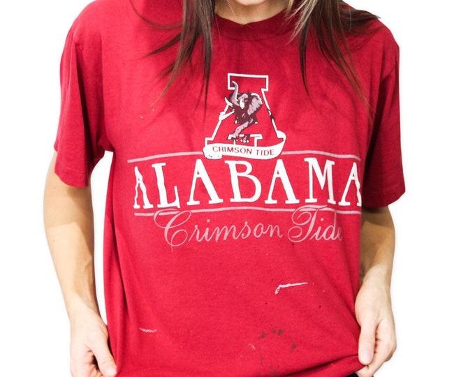 University of Alabama Vintage Tee - L