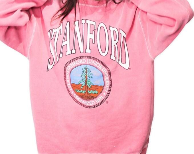 Stanford University Vintage Sweatshirt   Size L