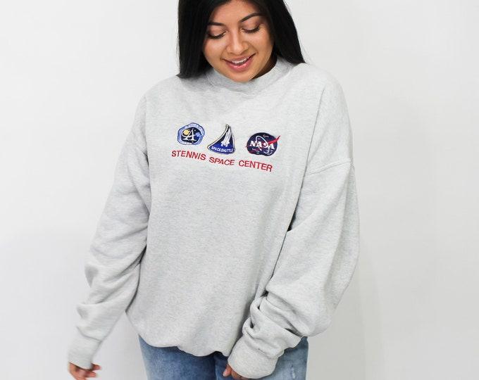 Vintage NASA Stennis Space Center Sweatshirt - XL