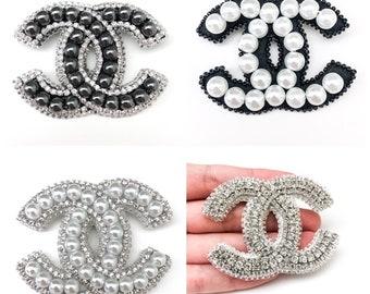 8a6afacd7 Chanel cc earrings | Etsy