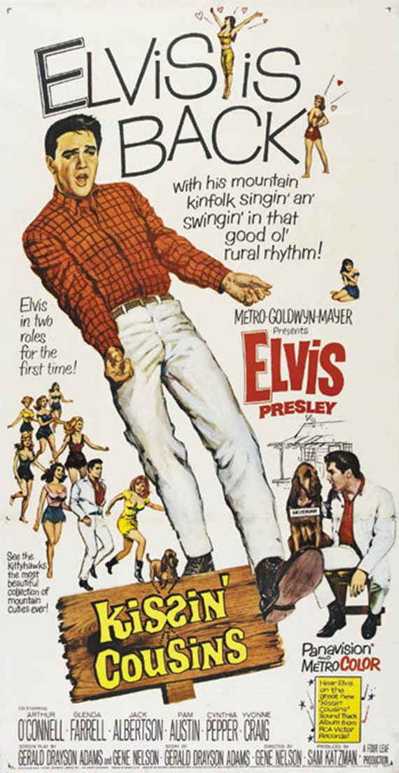 ELVIS PRESLEY KING CREOLE Home Wall Print-Vintage Movie Poster A4,A3,A2,A1