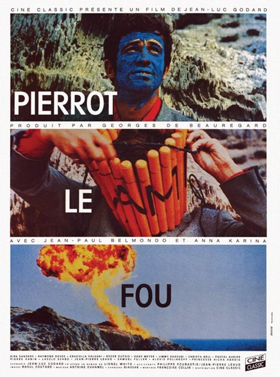 Jean Paul Belmondo Pierrot Le Fou